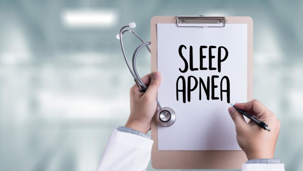a-sign-with-sleep-apnea-written-on-it